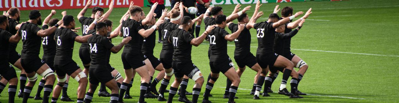 New Zealand Haka Rugby Match